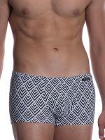 Olaf Benz BLU2050: Beachpant, schwarz/weiß