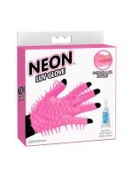 Neon Luv Glove: Massage-Handschuh, pink