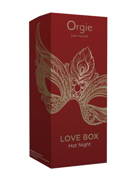 Orgie Love Box Hot Night: Produkt-Set der Marke Orgie