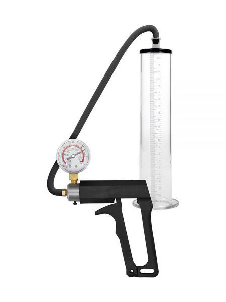 "Pumped Ultra Premium Pump 9"": Penispumpe, transparent"
