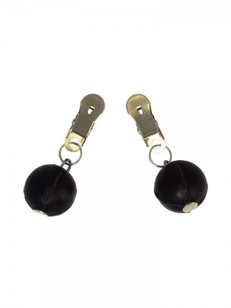 Nippelklemmen mit Kugelgewicht (2x 150g)