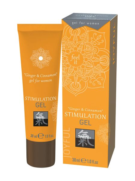 Shiatsu Stimulation Cream Woman: Intimcreme Ingwer/Zimt (30ml)