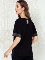 Anabel Arto: Shirt, schwarz