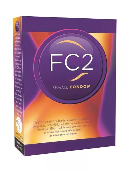 Femidom FC2 Female Condom: Kondome, 3er Pack