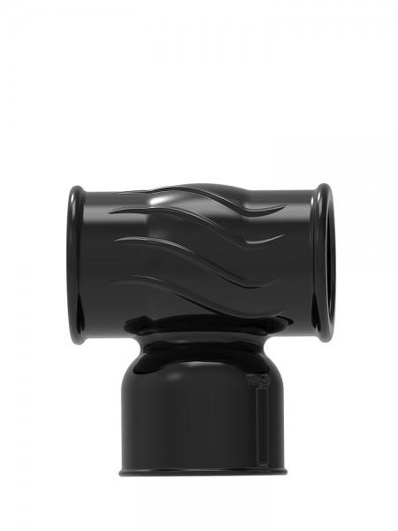 Power Wand Hummer Male: Vibratoraufsatz, schwarz