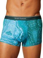 Bruno Banani Primary Rock: Hipshort, grün print