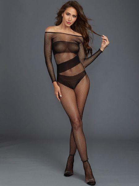 Dreamgirl Catsuit, schwarz