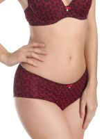 Sassa Geometric Art: Panty, ruby red