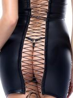 Demoniq Hard Candy Minikleid: Greta, schwarz