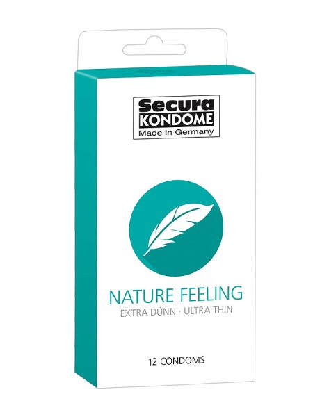Secura Nature Feeling: Kondome, 12er Pack
