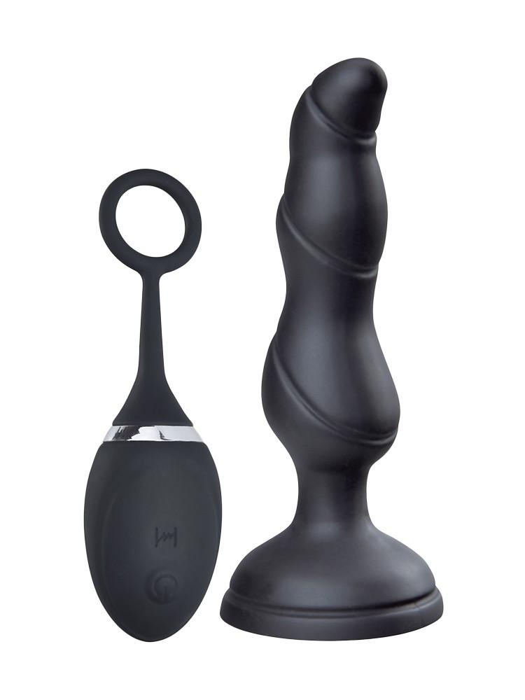 Hot Fantasy Felicity Taio: Anal-Vibrator mit Fernbedienung, schwarz