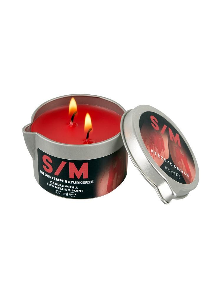 S/M Massagekerze rot (100ml)