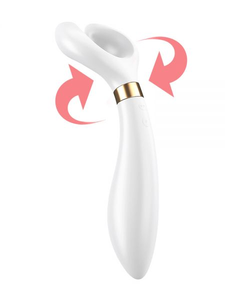 Satisfyer Partner Multifun 3: Paarvibrator, weiß