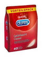 Durex Gefühlsecht Classic: Kondome 40er Pack