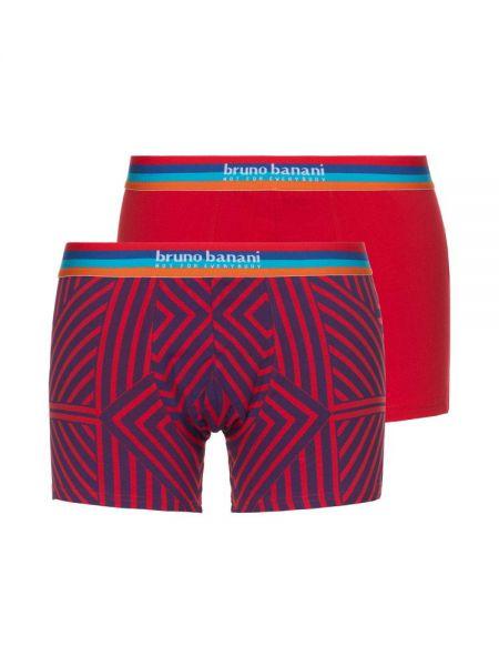 Bruno Banani Open Mind: Short 2er Pack, rot/blau