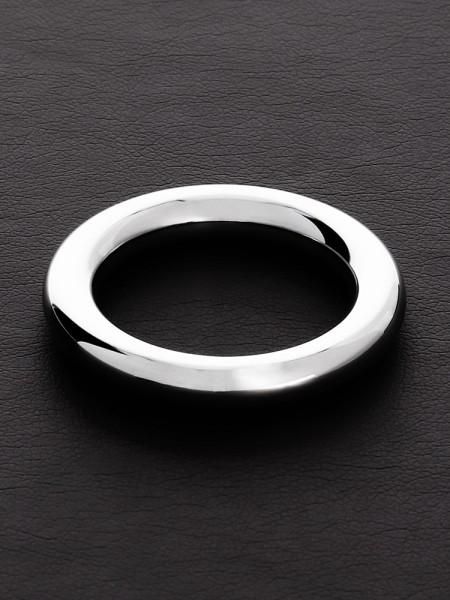 Triune Round Wire C-Ring: Edelstahl-Penisring (8mm breit)