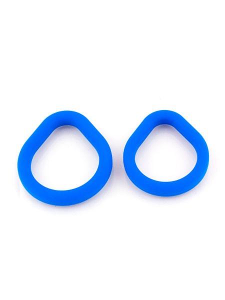 Sport Fucker Epic Hard On Ring Kit: Penisring-Set, blau