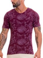 JOR Manhattan: T-Shirt, weinrot