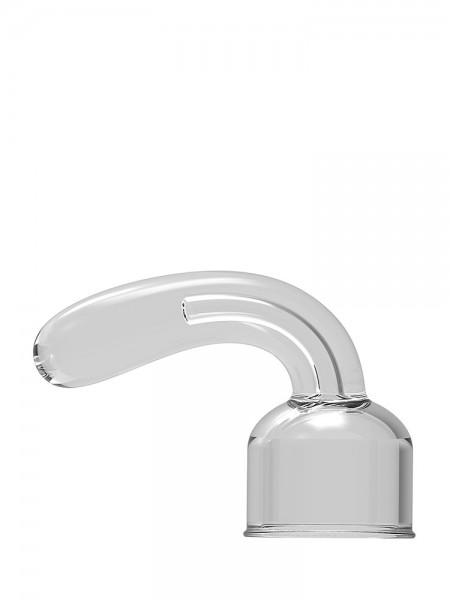 Power Wand G-Spot Pleaser: Vibratoraufsatz, transparent
