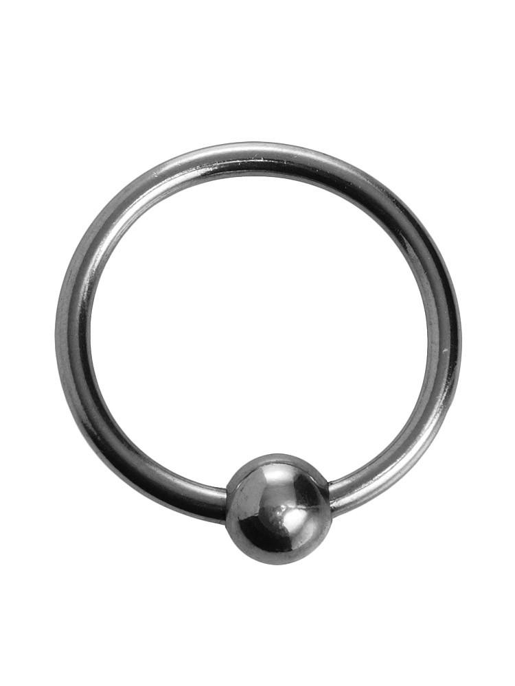 Master Series Ornata Steel Ball Head Ring: Edelstahl-Eichelring