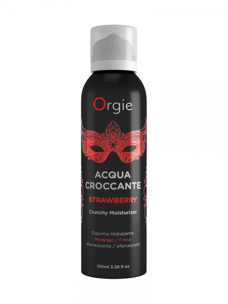 Orgie Acqua Croccante Strawberry: Massageschaum (100ml)