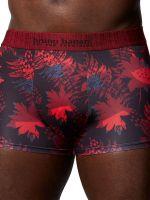 Bruno Banani Red Forest: Hipshort, weinrot print