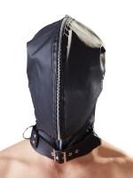 Doppelmaske, schwarz