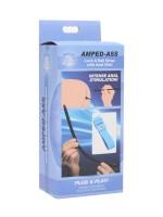 Zeus Amped-Ass Cock & Ball Strap: Elektro-Analplug, bipolar