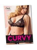 Pin-Up Kalender Curvy Girls 2022