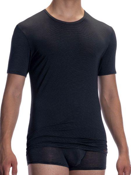 Olaf Benz PEARL2058: T-Shirt, schwarz