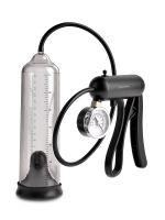 Pump Worx Pro-Gauge Power Pump: Penispumpe, transparent