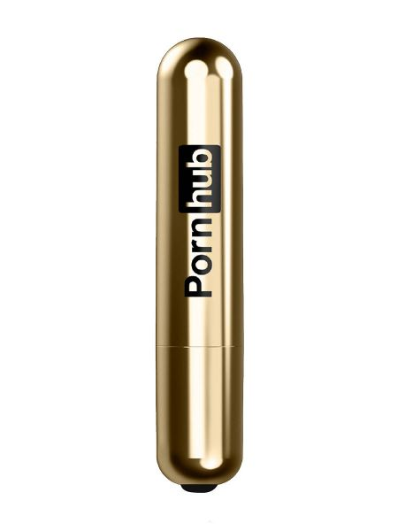 Pornhub Bullet: Vibro-Bullet, gold