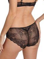 Sassa Bamboo & Lace: Panty, schwarz