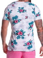JOR Hawaii: T-Shirt, blau
