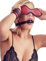 Bad Kitty 5-teiliges Fessel-Set, rot/schwarz