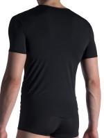Olaf Benz RED1817: V-Neck-Shirt, schwarz