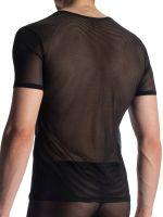 Olaf Benz RED1906: V-Neck-Shirt, schwarz