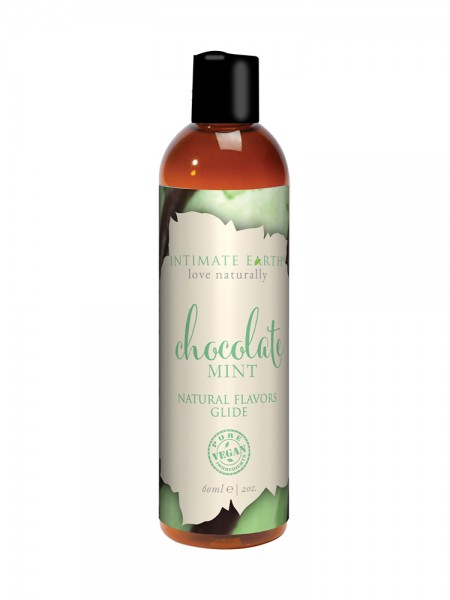 Gleitgel: Intimate Earth Chocolate Mint (60ml)