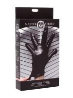 Master Series Pleasure Poker: Penetrationshandschuh, schwarz