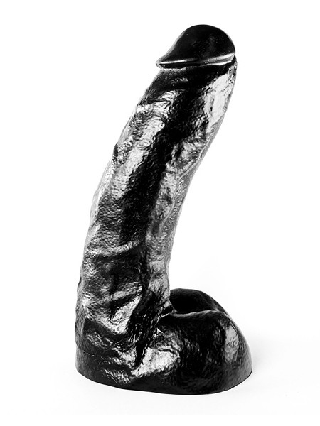 All Black AB67: Dildo, schwarz