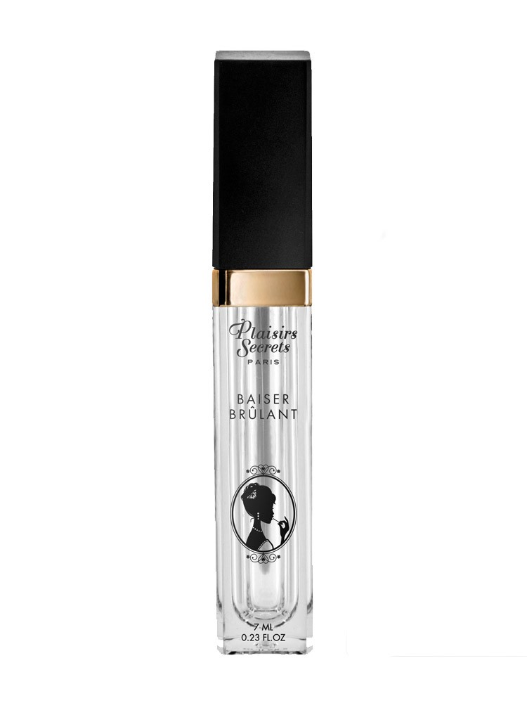 Plaisirs Secrets Baiser Brulant: Stimulating Oral Gloss (7ml)