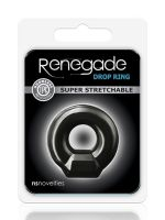 Renegade Drop Ring: Penisring, schwarz
