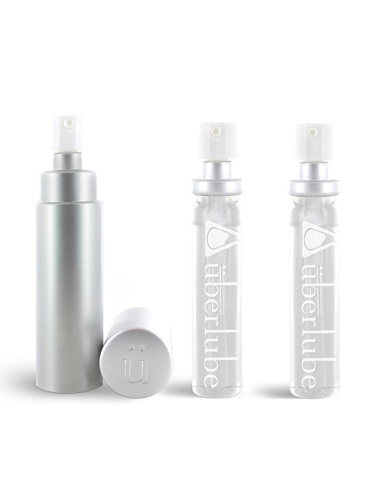 Gleitgel: Ã?berlube Good-to-Go Silver (15ml) + Refills