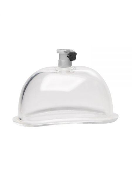 Size Matters 5'' Pumping Cup: Vagina-Saugglocke ca. 12,5cm, transparent