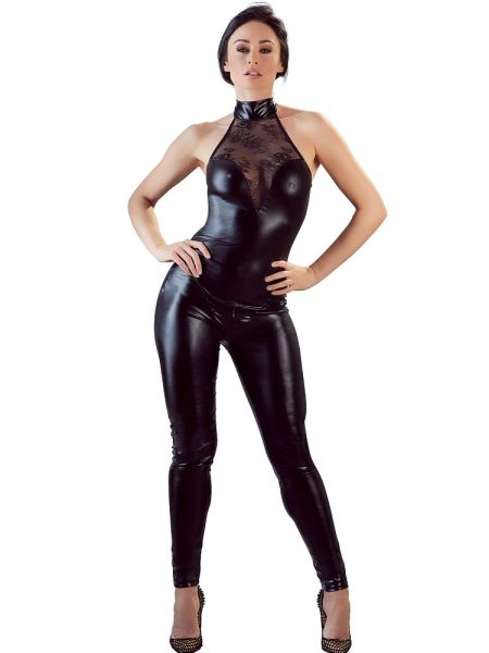 Wetlook-Overall, schwarz