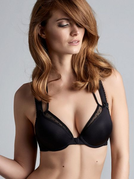 Marlies Dekkers Peekaboo: Padded Push-Up BH, schwarz