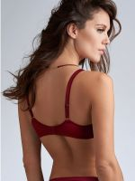 Marlies Dekkers The Mauritshuis: Padded Plunge Balcony BH, rhubarb red