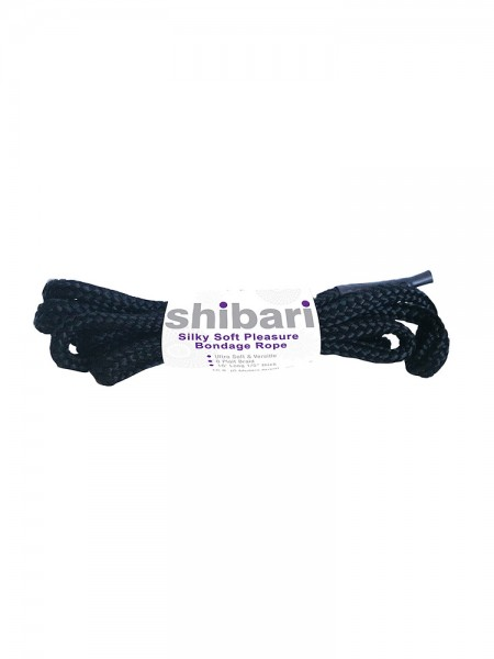 Silky Soft Rope: Bondageseil, schwarz (5m)
