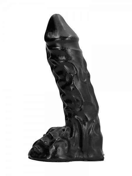 All Black AB27: Dildo, schwarz