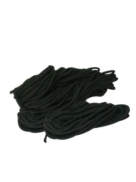 Bondage-Seile-Set, schwarz
